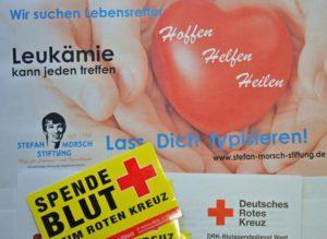 Blutspende hilft Leukämiepatienten – Stefan-Morsch-Stiftung und der DRK Blutspendedienst suchen im Januar gemeinsam Lebensretter in Hauenstein