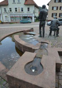 Brunnen im Hauensteiner Ortszentrum verursachen Kosten von rund 8.000