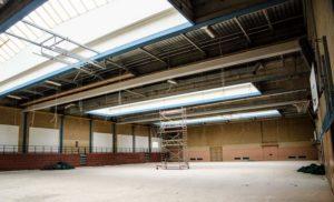 Arbeiten an der Hauensteiner Wasgauhalle dauern noch bis Februar 2018 – schwierige Situation für die Vereine
