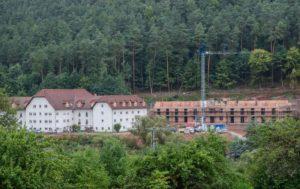 Der Neubau des Hauensteiner Seniorenheims geht voran