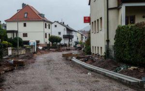 Arbeiten zum Ausbau der Dahner Straße verzögern sich