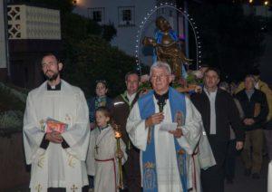 Mit der Lichterprozession endete das Gelöbnisfest Mariae Herzeleid