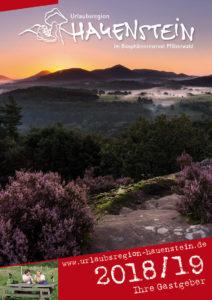 Gastgeberverzeichnis der Urlaubsregion Hauenstein für das Jahr 2018 ist erschienen