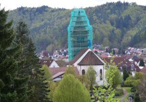 Die Gemeinde Hauenstein ist für den Turm der St. Bartholomäuskirche in Hauenstein nicht baulastverpflichtet