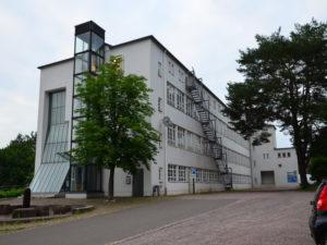 Gebäudesanierung am Deutschen Schuhmuseum