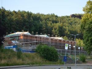 Neue Verzögerung bei der Renovierung der Hauensteiner Wasgauhalle