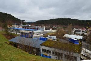 Ende April beginnt der Rückbau der alten THW Unterkunft