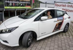 Verbandsgemeinde Hauenstein fährt E-Auto