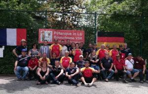 Seit 1997 Partnerschaft der Boulefreunde Hauenstein mit der Partnergemeinde Chauffailles