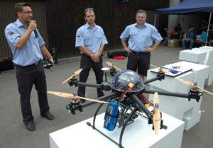 Fachtrupp für unbemannte Fluggeräte – Drohnen beim THW Hauenstein