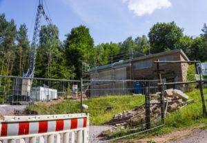 Erweiterung des Wasserhochbehälters am Hauensteiner Zimmerberg sollen bis ins erste Quartal 2020 andauern