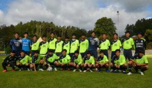 U18 des japanischen J-League Clubs Shonan Bellmare, trainierte auf den Rasenplätzen unter dem Needing
