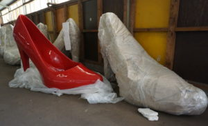"""Das Projekt """"Schuhweg"""" wurde auf Eis gelegt"""