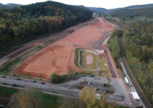 Bauarbeiten im Interkommunalen Baugebiet gehen in die Zielgerade