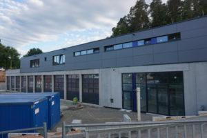 Neubau der THW – Unterkunft soll noch diesen Monat fertig werden