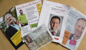 Der Wahlkampf zur Wahl des Verbandsbürgermeisters läuft
