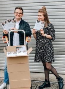 Papa Christof und Tochter Julia Feith aus Hauenstein haben ein Backbuch mit 20 süßen Keschderezepten geschrieben