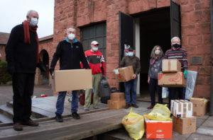 Spenden mit Lkw auf der Reise nach Siebenbürgen