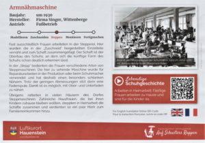 """""""Auf Schusters Rappen"""" durch die Hauensteiner (Schuh-)Geschichte"""