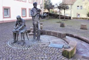 Der Lorenz-Wingerter-Platz im Hauensteiner Ortskern soll saniert werden