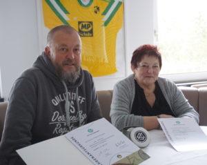 Mutter und Sohn mit dem DFB-Ehrenamtspreis ausgezeichnet