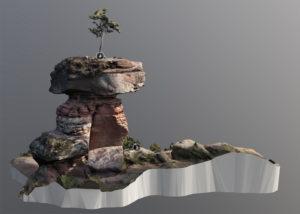 Der sagenumwobenen Teufelstisch die am meisten fotografierte Felsformation im Wasgau-Felsenland
