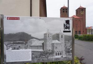 Großformatige historische Fotos an vielen Stellen in Hauenstein