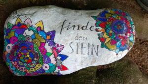 """""""Finde den Stein"""" Was steckt dahinter"""