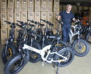 Hyker one E-Bike, das faltbare Klapprad